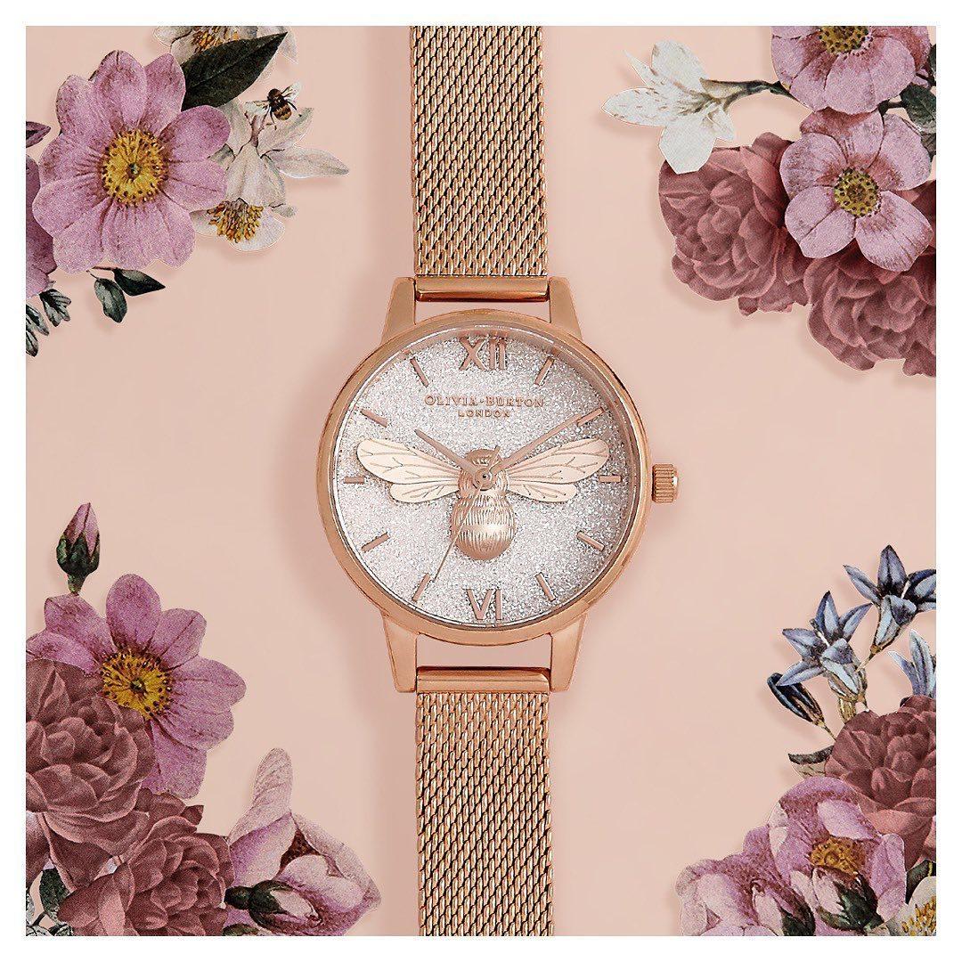 OliviaBurtonLondon,oliviaburton,OliviaBurton_Taiwan,OB,夢幻,花鳥,腕錶,飾品,配件
